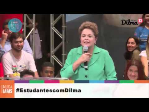 Dilma fala sobre Daniel