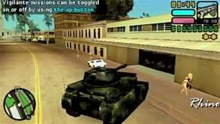 Gta Vice City Stories (PSP) - Trolling with Cheat Device