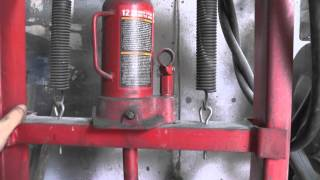Гидравлический пресс в гараж. Hydraulic press in the garage