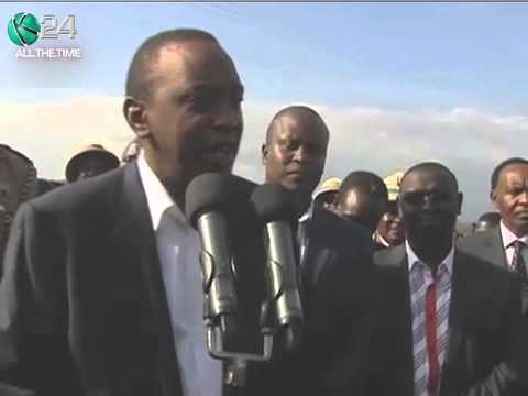 President Uhuru In Nyeri