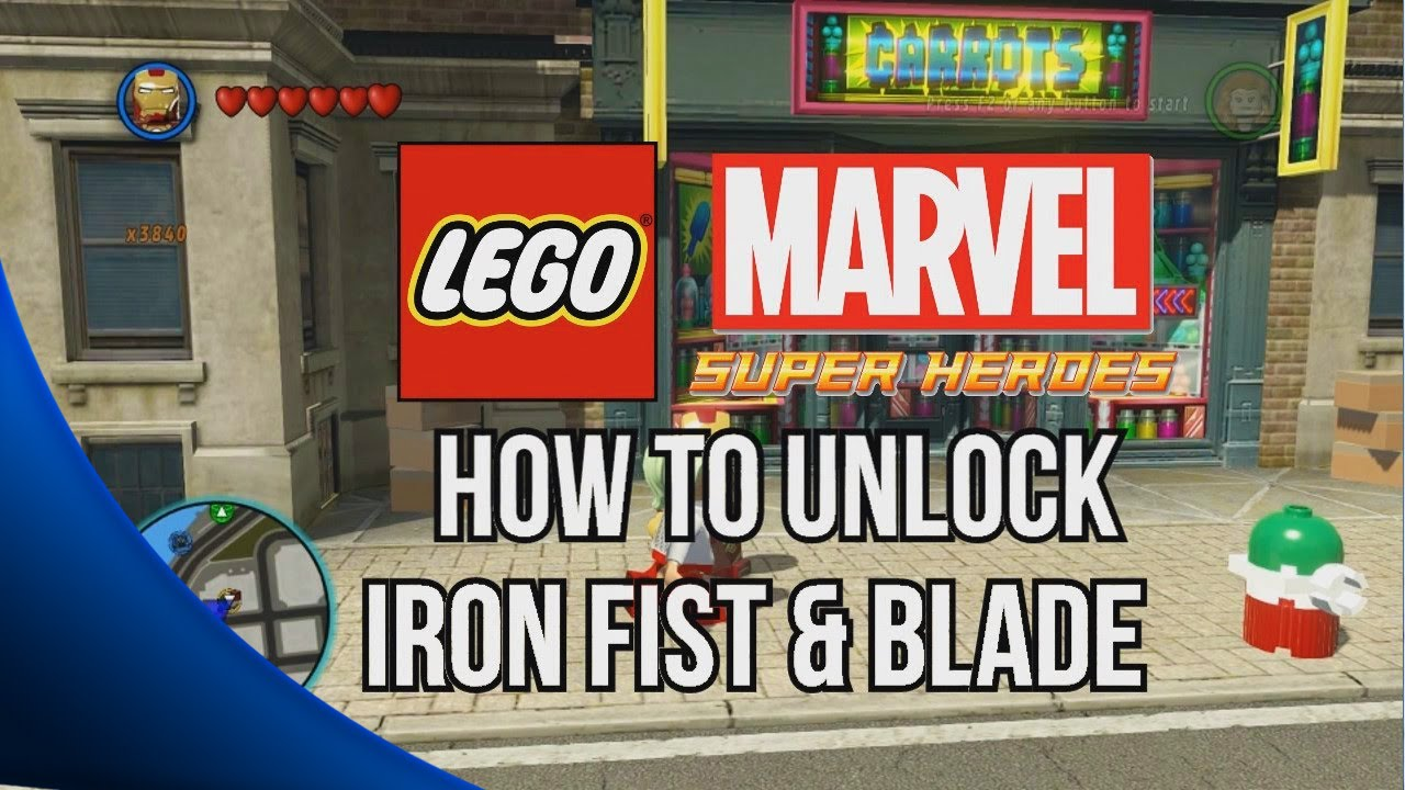Lego Marvel Superheroes Iron Fist Iron Fist Lego Marvel