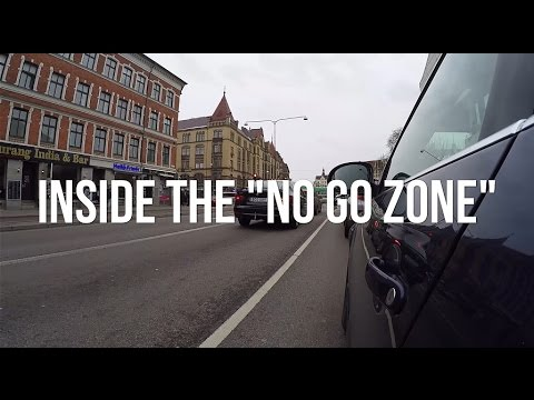 "INSIDE A ""NO GO ZONE"" IN MALMO, SWEDEN"