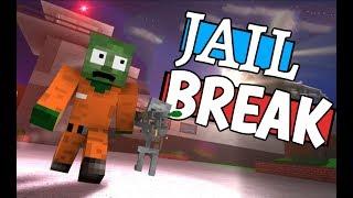 Monster School: JAILBREAK CHALLENGE - Minecraft Animation