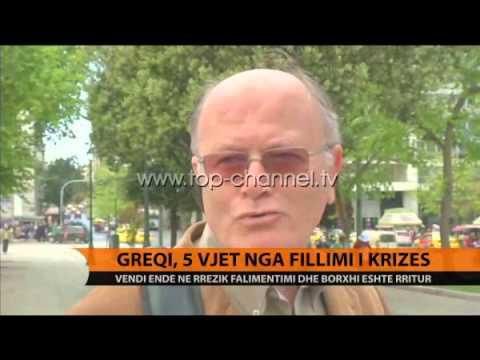 Greqi, 5 vjet nga fillimi i krizës - Top Channel Albania - News - Lajme