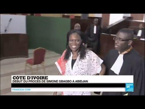 CÔTE D'IVOIRE - Début du procès de Simone Gbagbo, accusée de crimes contre l'humanité