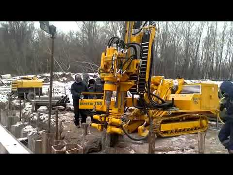 Красгеобур - видео работы станка Beretta T55 - 4-2