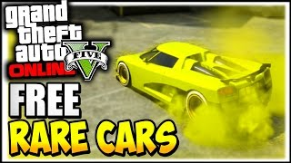 GTA 5 Online : RARE CARS FREE Location 1.30/1.31 - Secret Rare Vehicles (GTA 5 Cars Guide)