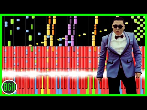 Psy gentleman - Impossible Remix video