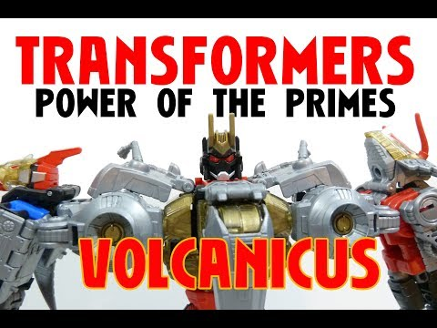 POWER OF THE PRIMES VOLCANICUS DINOBOT COMBINED MODE ROB A REVIEWS