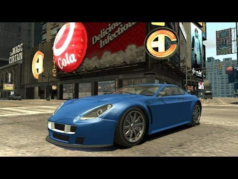 Grand Theft Auto IV - GTA 5 Cars Pack (MOD) HD - Видео поиск, скачать ви