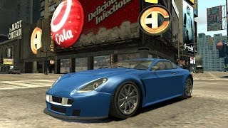 Grand Theft Auto IV - GTA 5 Cars Pack (MOD) HD