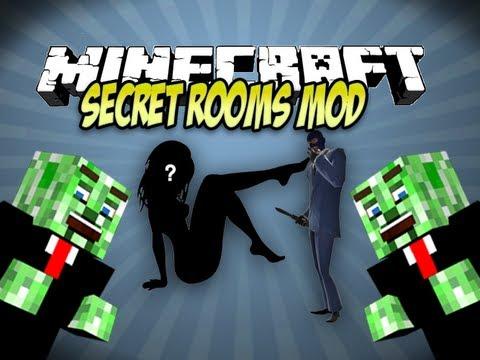 Minecraft Secret Rooms Mod Spotlight
