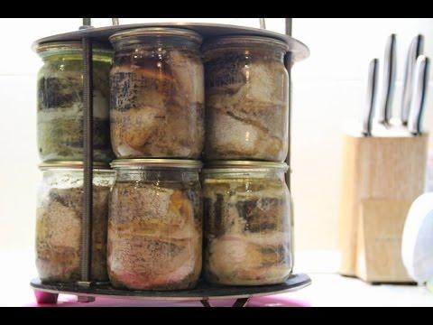 Рыбные консервы в домашних условиях. Приготовление рыбных консервов в автоклаве.