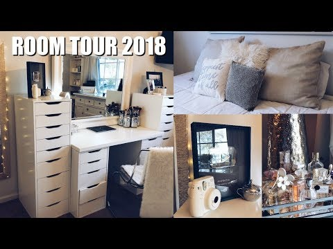 ROOM TOUR 2018! (aesthetically pleasing)