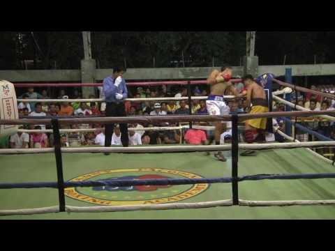 Jestine Tesoro - First Fight of Professional Boxing