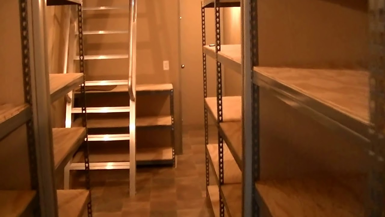 Underground Shelters Built From Shipping Container Youtube
