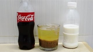 Coke mixed with Milk Experiment