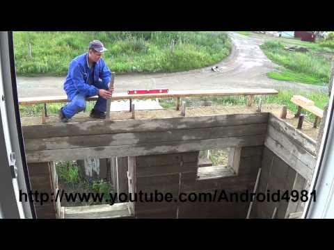 Андрюха строительство дома из арболита своими руками видео