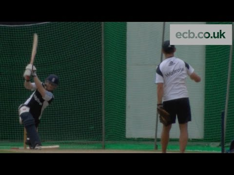 Eoin Morgan range hitting - England in Sri Lanka