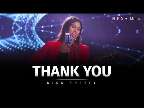 Thank You | Nisa Shetty | NEXA Music | Official Music Video