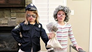 GRANDMA STOLE A MILLION DOLLARS! | Old People Cops and Robbers