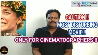 Midsommar (2019) Folk Horror Movie Review in Tamil by Filmi craft Arun