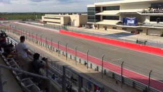 Lone star Le Mans warm up lap 2