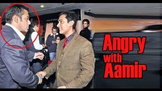 OMG : Salman and Aamir had a fight in party !