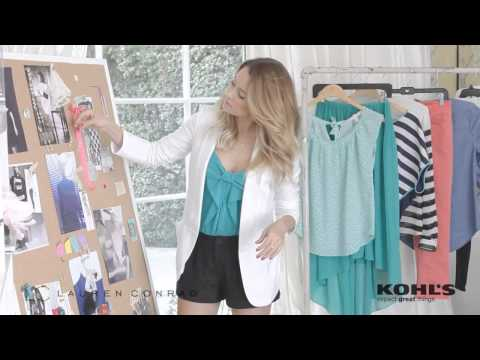 LC Lauren Conrad Spring 2013 Behind-The-Scenes