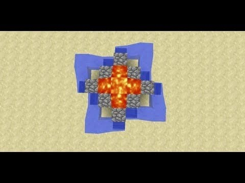Fast Quadruple Double Cobblestone Generator -- Minecraft Invention