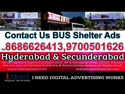 We Are One Of The Best BUS Shelter Advertising Agency in Hyderabad