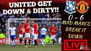 MANCHESTER UNITED SETTING RECORDS!! AGAINST LEAGUE 1 TRANMERE LIVE DEBATE #MUFC #FACUP