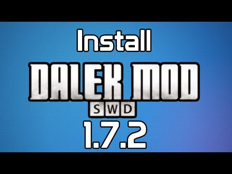How to install The Dalek Mod (1.7.2)