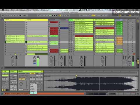 Большая разница в темпе треков (из курса Диджеинг в Ableton Live)