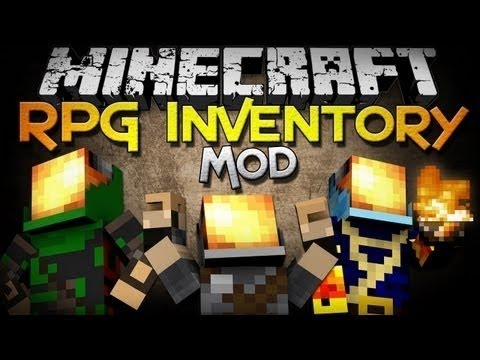 Minecraft Mod Spotlight 1.5.1 - RPG Inventory Mod