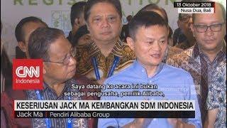 Jack Ma Serius Kembangkan SDM Indonesia