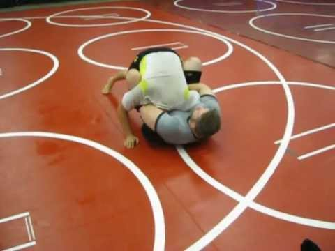 Modesto Grappling Club Instr. #168:  Guillotine vs Half Guard, Guillotine Sweep from Butterfly Image 1