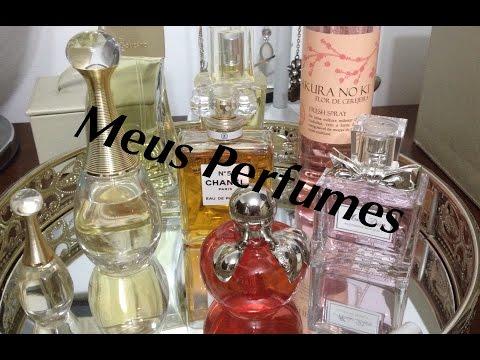 Meus Perfumes Dior-CHANEL-Nina Ricci-Boticário