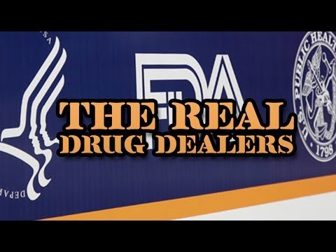 Drug Dealing Legalized; They're Called Pharmaceutical Companies