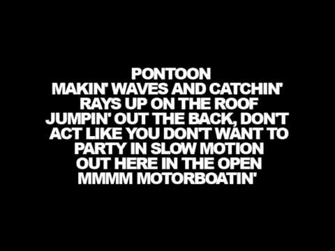 Lyrics Little Big Town - Pontoon