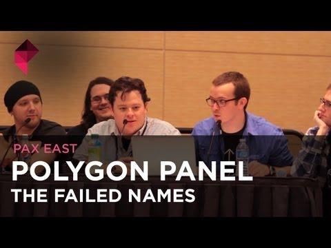 The Failed Names - Polygon Panel