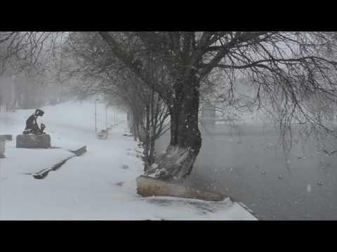 Замело снегом за 3 часа. Киров 20.04.2017