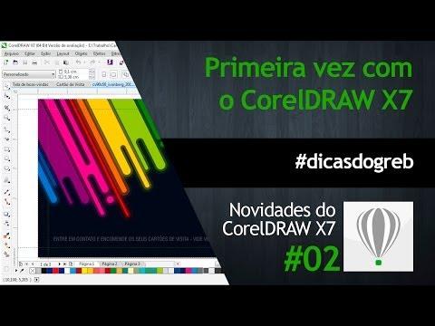 CorelDRAW X7 - Primeira Vez com o X7 #dicasdogreb