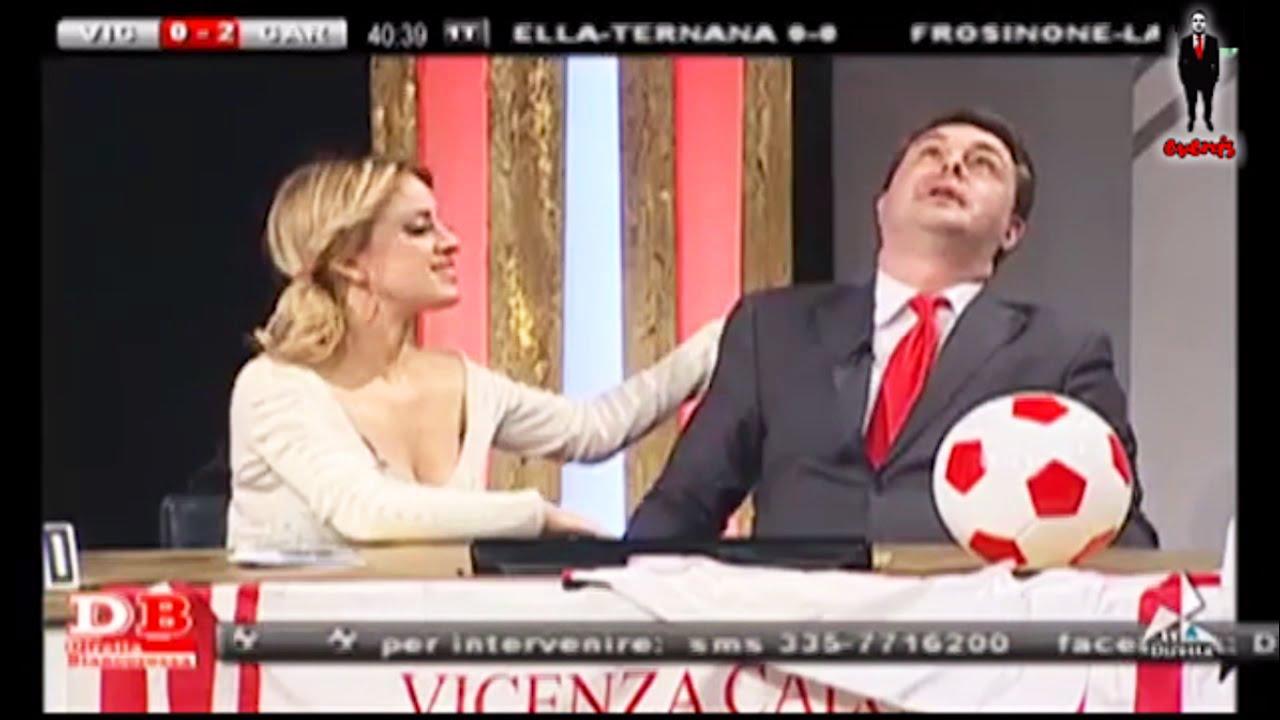 Imperdibile Andrea Dipre Impazzisce A Diretta Biancorossa  Youtube