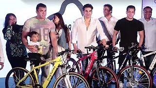 Salman Khan With Family At Being Human Cycle Launch