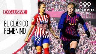 Atlético Madrid vs FC Barcelona - The Record Breaking Women39s Football Club Match
