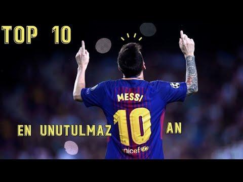 Lionel Messi - 2017 Yılından En Unutulmaz 10 An • HD