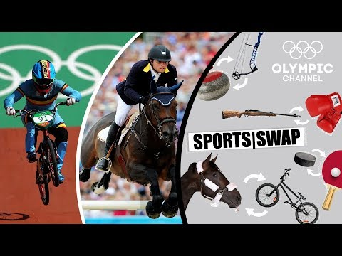 BMX vs Equestrian  Can They Switch Sports?  Sports Swap Challenge