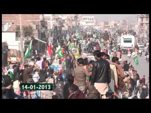 Long March Lahore To Islamabad 14 Jan 2013 (dr.tahir Ul Qadri) video