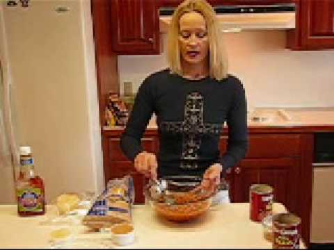 Betty's Crispy Bacon-Topped Baked Beans Recipe Video